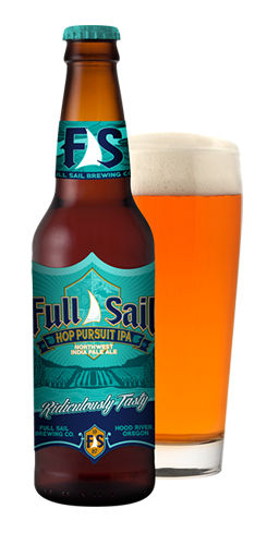 Hop Pursuit IPA by Full Sail Brewing Co.