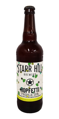 Starr Hill Beer Hopfetti Triple IPA