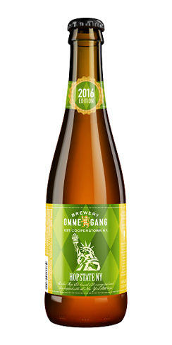 Brewery Ommegang Hopstate NY 2016 beer