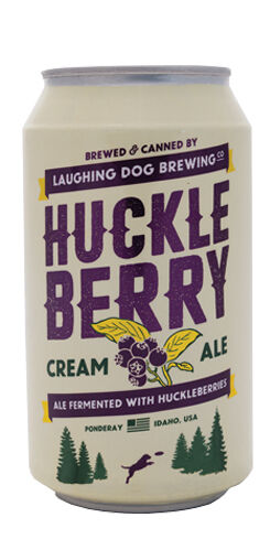 Huckleberry Cream Ale, Laughing Dog Brewing