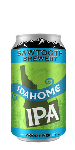Idahome IPA by Sawtooth Brewery