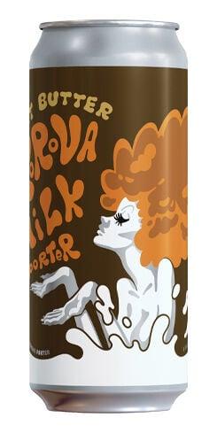 Imperial Peanut Butter Korova, Gnarly Barley Brewing
