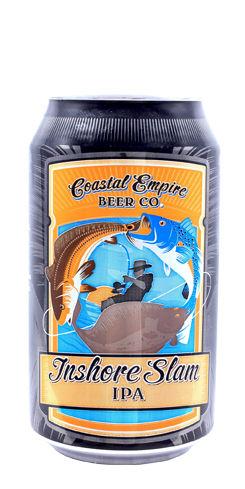 Inshore Slam IPA by Coastal Empire Beer Co.