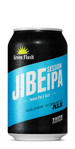 Green Flash beer Jibe Session IPA