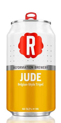 Jude Belgian-Style Tripel by Reformation Brewery