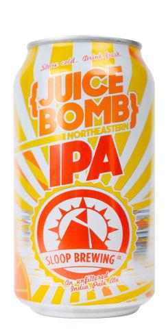 Juice Bomb, Sloop Brewing Co.