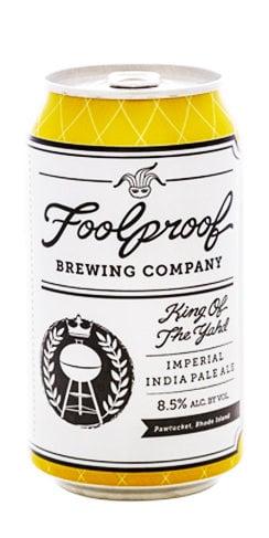 Foolproof Beer King of the Yahd Imperial IPA