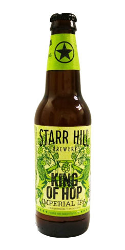 Starr Hill King of Hop Imperial IPA beer