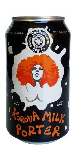 Korova Milk Porter by Gnarly Barley Brewing Co.