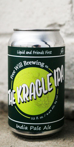 Kragle IPA by Free Will Brewing Co.