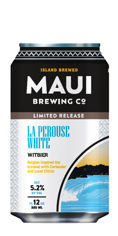 La Perouse White Witbier Maui beer
