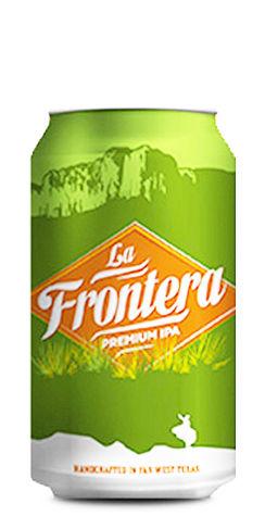 La Frontera IPA Big Bend Brewing