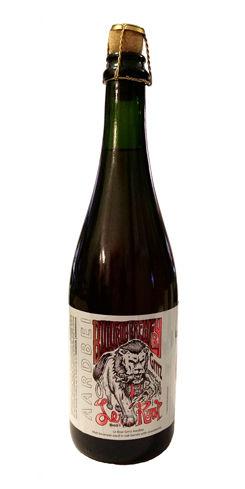 Le Roar Grrrz Aardbei by Bullfrog Brewery