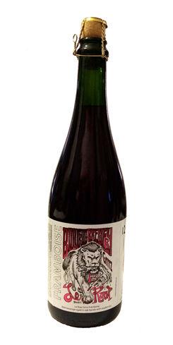 Le Roar Grrrz Framboise by Bullfrog Brewery