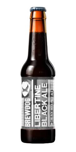 Libertine Black Ale Brewdog Black IPA Beer