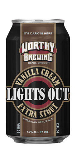Worthy Brewing Lights Out Stout Beer
