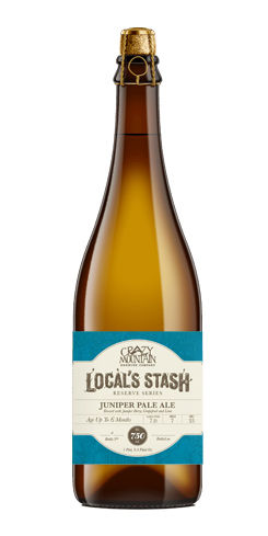 Local's Stash Reserve Series - Juniper Pale Ale by Crazy Mountain Brewing Co.