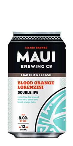 Lorenzini Double IPA Maui beer