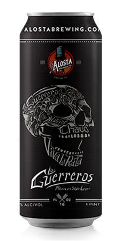 Los Guerreros Mexican Lager, Alosta Brewing Co.