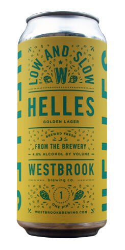 Low & Slow Helles, Westbrook Brewing Co.