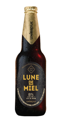 Image result for unibroue lune de miel