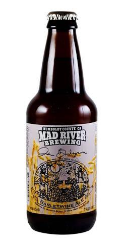 John Barleycorn Barleywine Mad River Beer