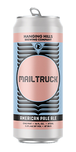 Mail Truck, Hanging Hills Brewing Co.