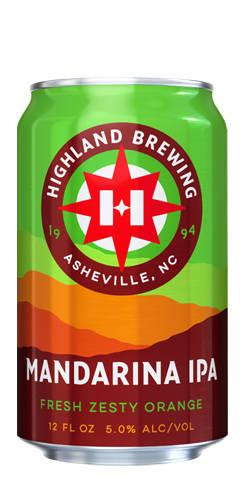 Mandarina IPA, Highland Brewing Co