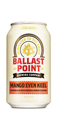 Mango Even Keel Ballast Point Beer