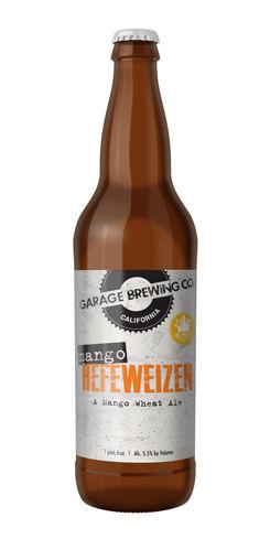 Mango Hefeweizen by Garage Brewing Co.