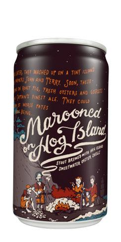 Marooned on Hog Island 21st Amendment Beer