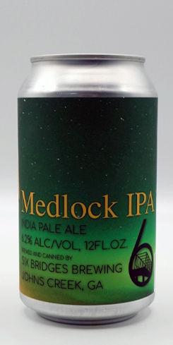 Medlock IPA, Six Bridges Brewing