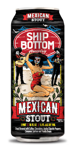 Mexican Stout by Ship Bottom Brewery