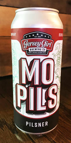 MO PILS, Jersey Girl Brewing Co.