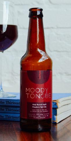 Oak Barrel Aged Flanders Red Ale, Moody Tongue