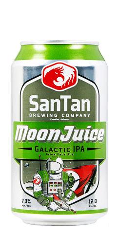 Moonjuice IPA beer Santan brewing