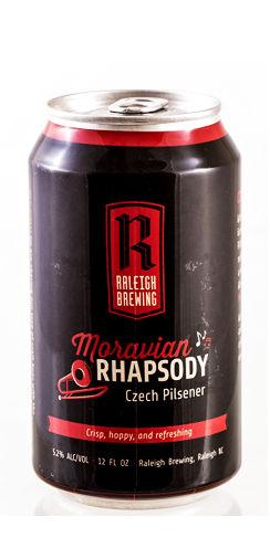Moravian Rhapsody Raleigh Brewing Beer