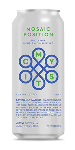 Mosaic Position DIPA by Mystic Brewery