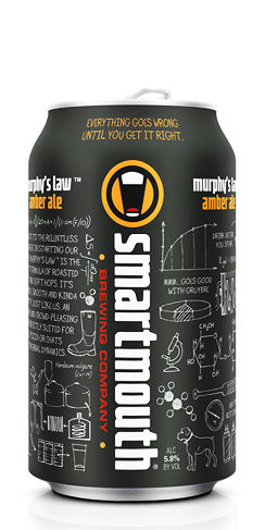 Smartmouth Beer Murphy's Law Amber Ale