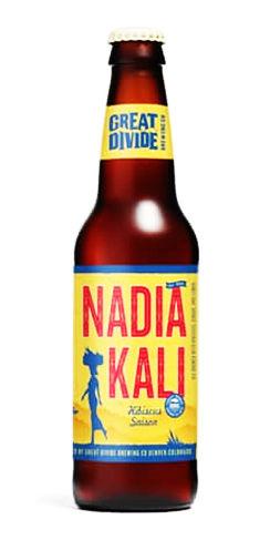 Great Divide beer Nadia Kali Saison