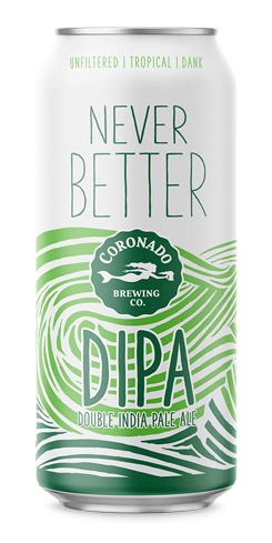 Never Better DIPA, Coronado Brewing Co. by Randy Scorby