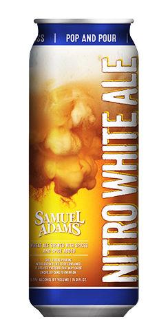 Nitro White Ale Samuel Adams Beer