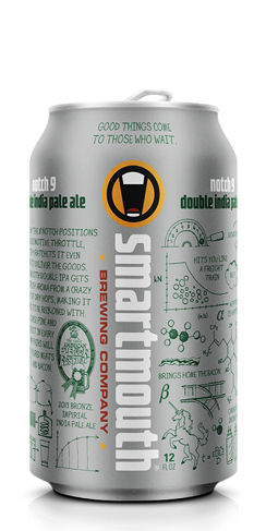 Smartmouth Beer Notch 9 Double IPA