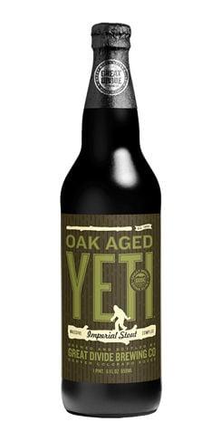 Oak Aged Yeti Beer Great Divide