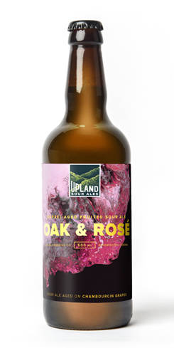 Oak & Rosé, Upland Brewing Co.