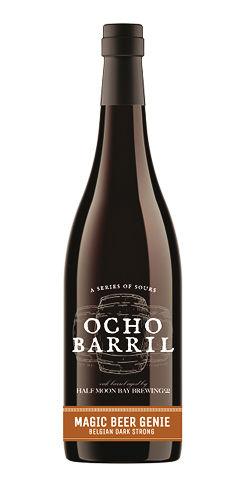 Ocho Barril Magic Beer Genie Half Moon bay beer