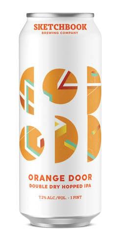 Orange Door, Sketchbook Brewing Co.