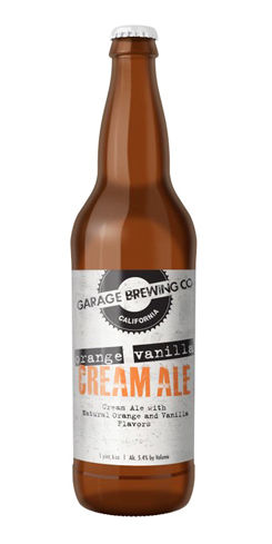 Orange Vanilla Cream Ale by Garage Brewing Co.