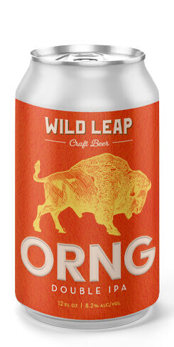 ORNG Double IPA, Wild Leap Brew Co.