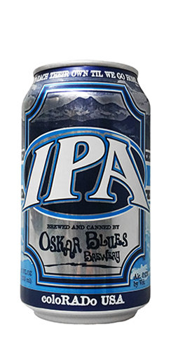 Oskar Blues IPA Beer Can